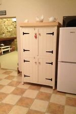 Pine Kitchen Traditional Cupboard Unit Pantry Linen Larder Storage Shabby Chic