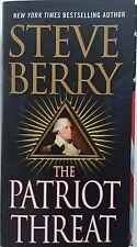 PATRIOT THREAT (9781250058447) - STEVE BERRY (PAPERBACK) NEW