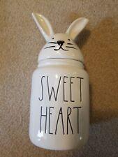 Rae Dunn SWEET HEART Bunny Canister