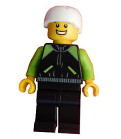 Lego Radfahrer Fahrradfahrer Radsportrler Radler Minifigur City cty658 Neu