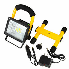 30W Rechargeable 24LED Flood Floodlight Work Light Portable Caravan Camping Lamp