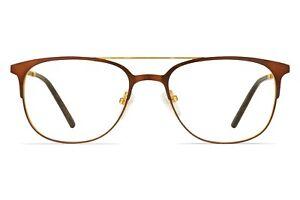 IWEAR 6074 Retro Metal Glasses With Prescription Lenses 52-17-145 *New*