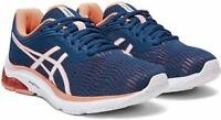 ASICS Women's GEL-Pulse 11 Mako Blue/Sun Coral Athletic Running Shoe Size 7.5/39