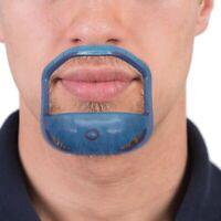5Pcs/Set Coupe Symétrique Du Cou De La Barbe Du Cou Moustache Toilettage Ba S8K2