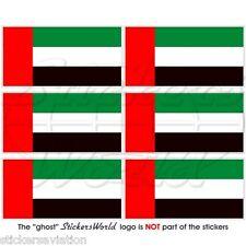 Bandiera Bandiera aufbügler Patch 9 x 6 cm Ricamate Emirati Arabi Uniti Emirati Arabi Uniti