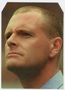 Scarce Trade Card of Paul Gascoigne, Football 1997