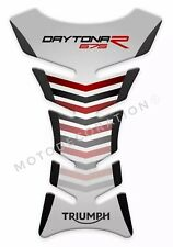 Triumph Street Triple Daytona 675R Motorcycle Tank Pad 3D Gel TRIUMPH Grey