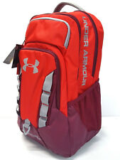 Under Armour Storm Recruit Large Backpack with Laptop Sleeve Red/Black Currant