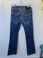 Miss Me Women's Bootcut Low Rise Medium Wash Denim Jeans Size 28 JP5002-12R
