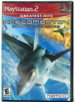Ace Combat 4 04 Shattered Skies PlayStation 2 PS2 Greatest Hits Complete in Box