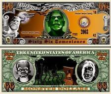 Halloween Monster 66 TombStones Dollar Bill Collectible Novelty Money