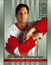 Brendan Shanahan 1997-98 Donruss Studio 97 Portrait Detroit Red Wings #6 NM 8x10
