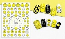 Nail Art 3D Decal Stickers Smiley Face Smile Emoji CA001