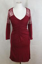 Liu Jo Jersey Kleid Spitzenkleid Damen Gr.36/38 (IT 42),sehr guter Zustand