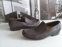 Cole Haan  Moc Brown Leather Loafer Slip On Casual Shoes US 10.5