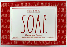 Rae Dunn Cinnamon Apple Scented Hand & Body Soap w Shea Butter (Merry Christmas)