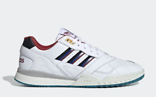 New Adidas Men's Originals A.R. Trainer Shoes (EE5397)  White // Burgundy-Royal