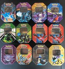 Empty Pokemon Collector Tins for Card Storage - Lot of 12 - NO CARDS INCLUDED
