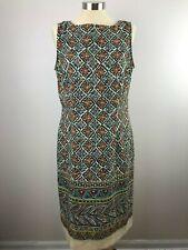Sag Harbor Sheath Dress 12 Colorful Sleeveless