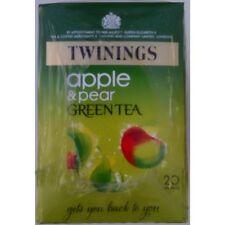 Twinings Apple & Pear Green Tea - 4 x 20 Tea Bags
