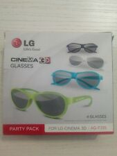 Occhiali 3D LG, CINEMA 3D Party Pack , Glasses, La scatola ne contiene 4, Nuovi.