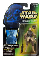 Star Wars POTF Green Card Leia in Boushh Disguise Blaster Rifle Bounty 1997 New