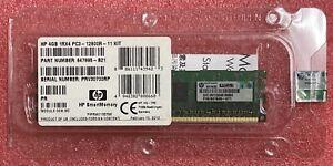 HP 4GB 1Rx4 PC3-12800R RAM 647895-B21 647648-071 REG ECC  NEW