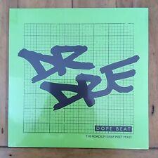 "DR DRE - DOPE BEAT - 12"" Vinyl Record Brand New Sealed"