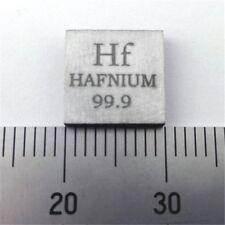 Pure Hafnium Metal Sheet 10X10X2mm 99.9% 0.1oz 2.8grams Element Hf Sample