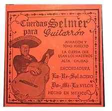 Cuerdas para Guitarron Selmer (Copper/White Nylon) - NEW