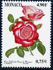 TIMBRE DE MONACO N° 2194 ** FLORE /  FLEUR / ROSES ET ORCHIDEES