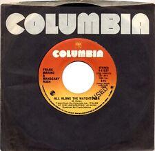 "Frank Marino & Mahogany Rush - All Along The Watchtower  RARE ORIG Canada 7"" 45"