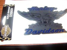 "New Harley Davidson Helmet Window Bumper Decal Sticker 6"" Outside Application"