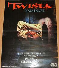 TWISTA Kamikaze, 2-sided Atlantic promotional poster, 2003, 19x24, VG+, hip-hop