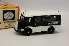Norev Hachette 1/43 - Citroen Type H Police 1968