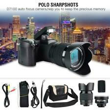 "D7100 Auto Focus 33MP 3"" LCD 24X ZOOM LED Digital DSLR Camera Photo Camcorder"