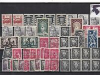 saar germany 1948 stamps  mint+used stamps Ref 10327