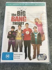 The BIG BANG THEORY Brand New And Sealed Complete Second Season- Fast Free Post