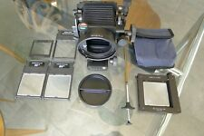 HASSELBLAD FLEXBODY MEDIUM FORMAT EXCELLENT+++ LOW USE & MINT GLASS