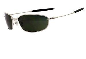 Oakley Whisker Sunglasses SILVER_DARK GREY New Boxed 05-716