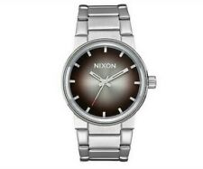 NIXON 39.5mm CANNON OMBRE Stainless Steel Men's Watch A160 2564-00 NEW!  $150.00