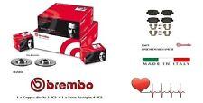 Dischi + Pastiglie Freno Posteriori Brembo FORD GALAXY KUGA I S-MAX MONDEO IV