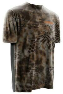 Youth NOMAD Banshee Camo Hunting Short Sleeve Jersey Shirt Youth L NEW