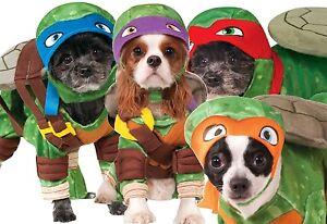 Animal Chien Chat Teenage Mutant Ninja Turtles Costume Déguisement Halloween