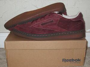 Reebok Classic Club C 85 G Burnt Sienna / Sand Stone Men's Size 11.5 NEW! BS5093