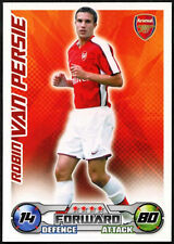 Robin Van Persie-ARSENAL-Match Attax 08/09 TRADE card (C415)