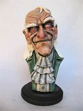UNCLE CREEPY  RESIN BUST 1/4 MODEL KIT PAINTED.