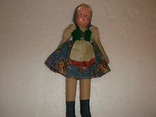 Vintage Papier Mache & Cloth Body Doll