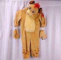 Disney Store Kion Lion Guard Toddler Costume 2T 92cm Full Body Plush Hood