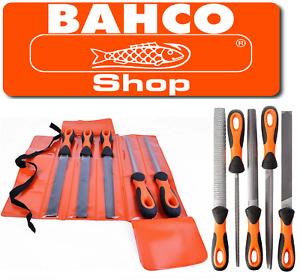 "BAHCO  1-478-08-1-2 ERGO Sandvik 5 Piece Engineers File Set 8"" / 200mm"